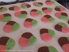 Spumoni Cookies