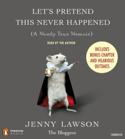 Book Cover for Let's Pretend This Never Happened by Jenny Lawson