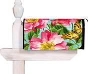 Butterfly-PinkFlower_Mailbox56392